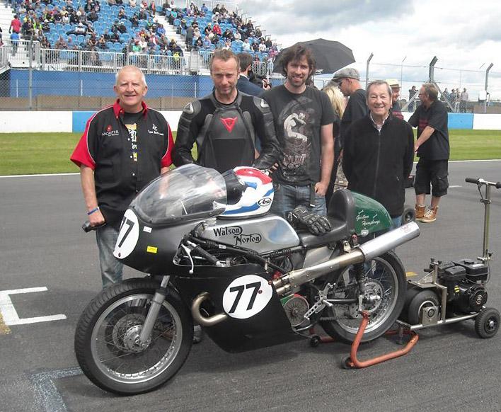 Dave Watson Gary Thwaites 1007 Donnington 2013