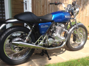 Photo of Nigel Waring's motorcycle
