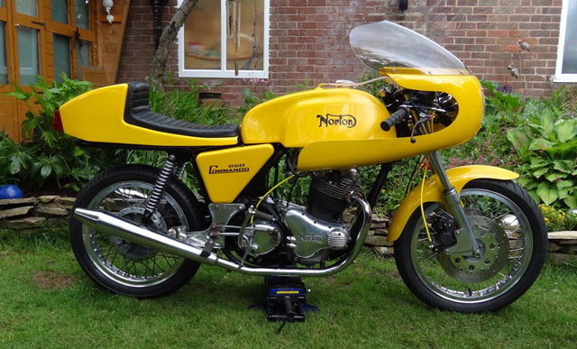 Ralph Coldwell's Norton bike