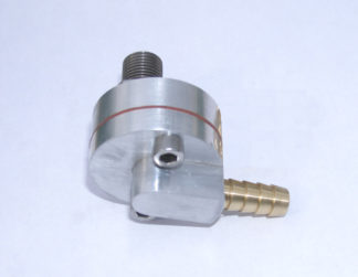 One way reed valve breather