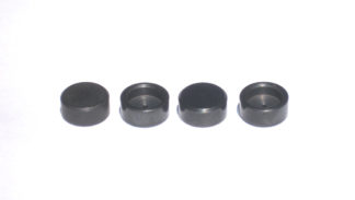 Special short lash caps to fit valve tips for JS Beehive springs