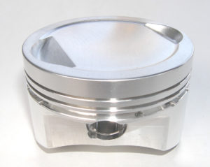 Recessed pistons with squish band