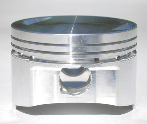 Flat top pistons for street and racing