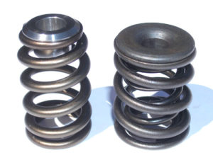 Photo comparing two springs