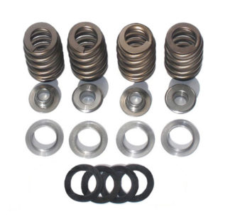 Conical beehive valve springs without the valves